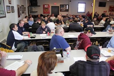 Schuylkill Volunteer Firefighters Association Meeting, Frackville (1-27-2013)