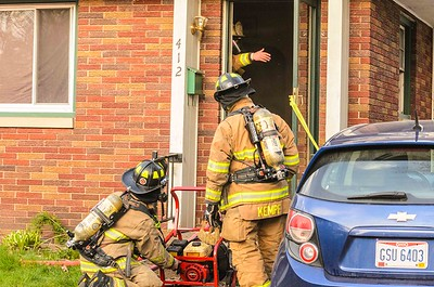 04-10-17 Coshocton FD Kitchen Fire