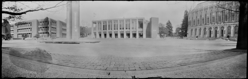 University of Washington with the Clipper 6x18 Pinhole Camera from a Paper Negative