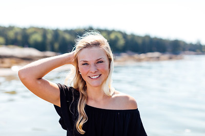 Wylie | Maine Senior Portraits