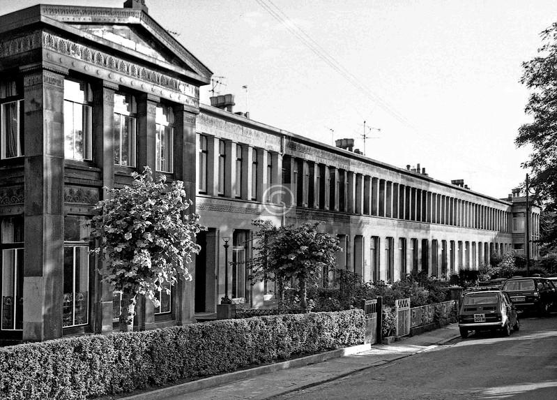 Moray Place.  July 1975