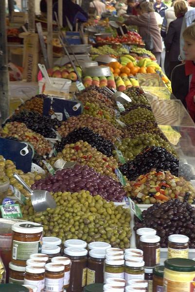 Olives at the Market - Nice, France