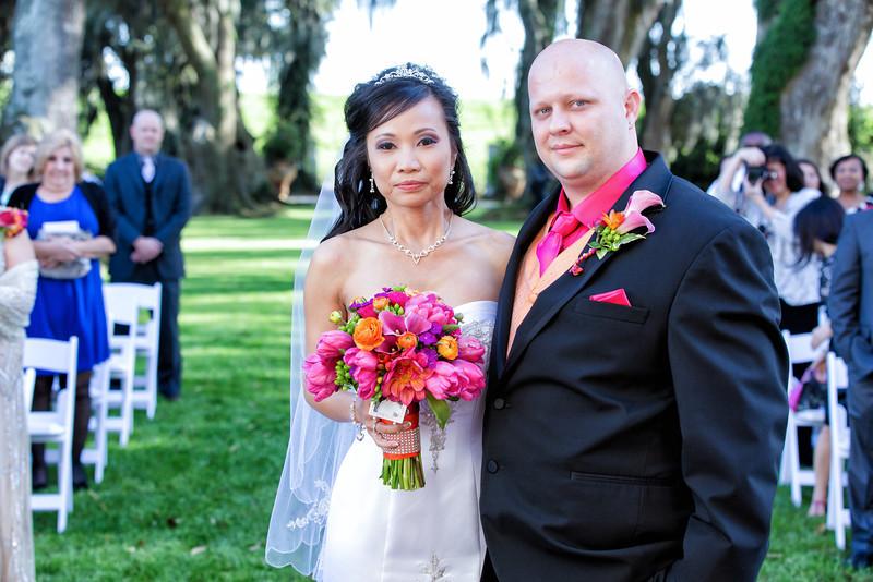 Stacie and Jarrod Wedding Ceremony