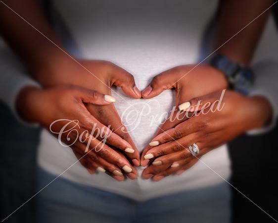 Angela & Antwon Maternity Shoot