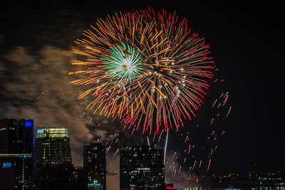 4th of July Fireworks Nashville TN '18