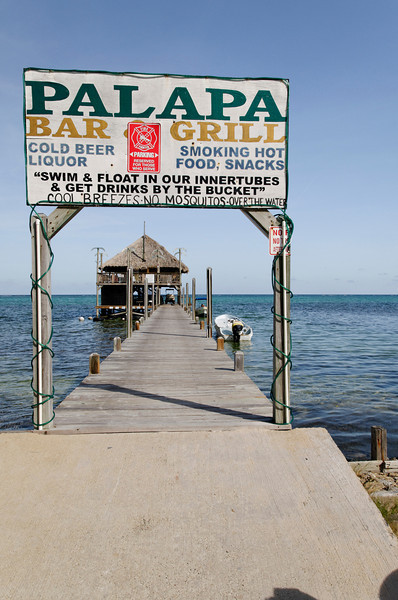 Entrance to the Palapa Bar.