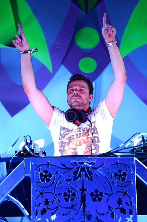 . DJ/producer ATB performs at the 17th annual Electric Daisy Carnival at Las Vegas Motor Speedway on June 21, 2013 in Las Vegas, Nevada.  (Photo by Ethan Miller/Getty Images)