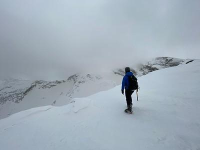 Winter Mountaineering on Veleta 1 March 2021