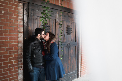Sara + Mike: Strip District & Downtown Engagement Session