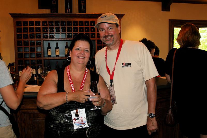 At Freemark Abbey Winery.