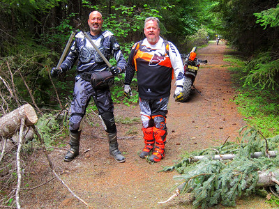 6/13/16 Trail Clearing Prospect