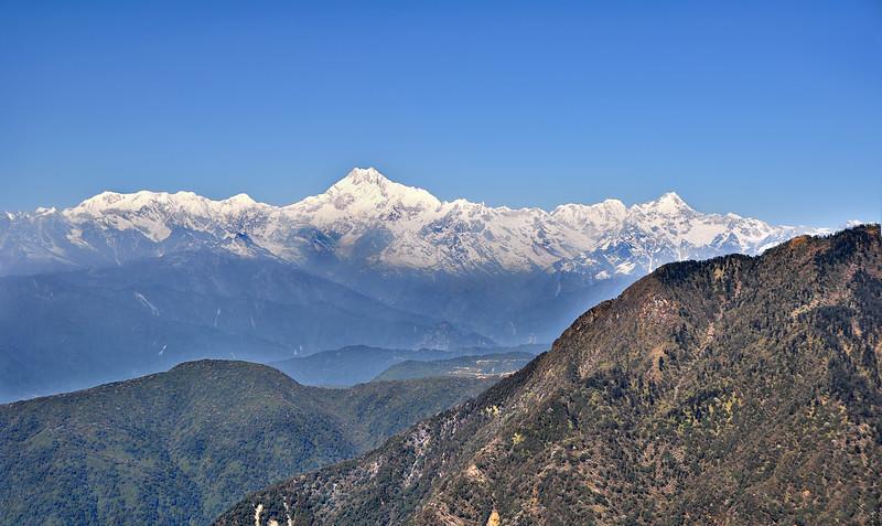 Kangchenjunga from Lungthang