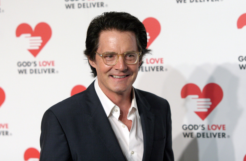 . Actor Kyle MacLachlan attends the 2013 Golden Heart Awards Gala on Wednesday, Oct. 16, 2013, in New York. (Photo by Andy Kropa/Invision/AP)