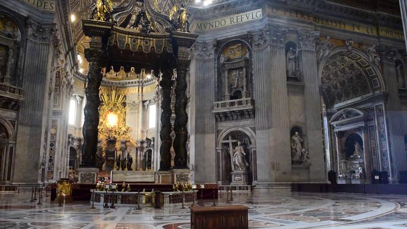 Vaticano 2015: Basilica de San Pedro 1