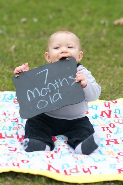 Braden Aaron - 7 Months Old