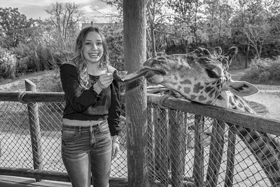 Cincinnati Zoo Senior Photos