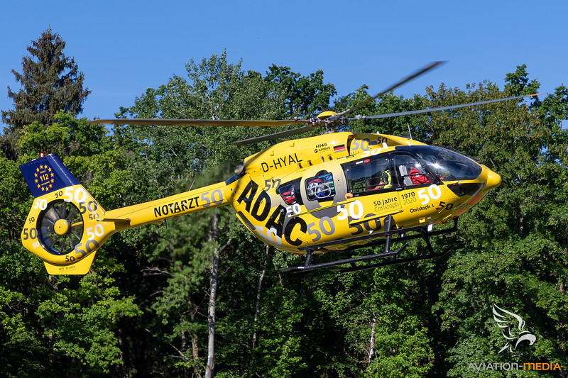 ADAC Luftrettung / H145 / D-HYAL / Christoph 1 - 50 Jahre Luftrettung