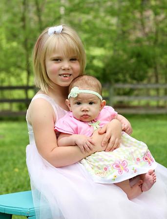 Heather & Makynzie Easter Mini