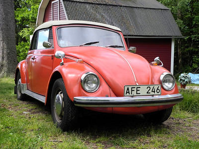 Karmann Beetle 1970 - Present from Mum & Dad!