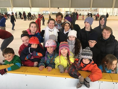 Ice Cream and Ice Skating Event