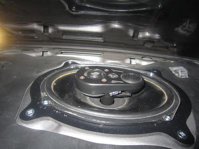 2003 lexus is300 sedan Rear Deck Speaker Installation - USA