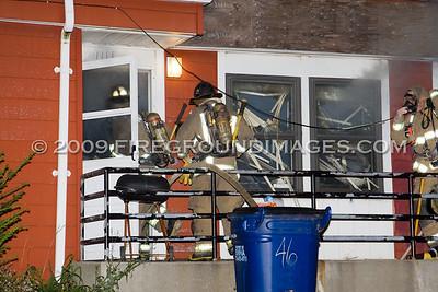 Michigan Ave. Fire (Buffalo, NY) 10/10/09