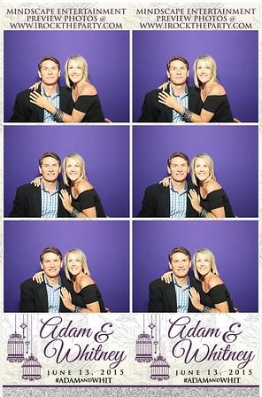 Adam & Whitney Ramirez's Wedding - Photo Booth Pictures