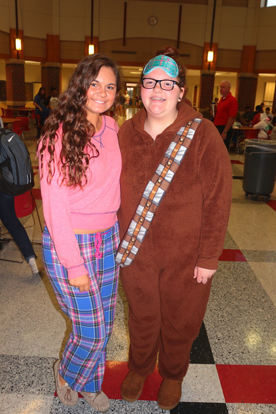 SPIRIT WEEK MONDAY - PJ DAY   100316