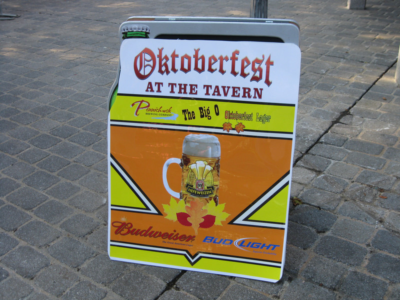 "The Sons of Liberty Tavern was rethemed as ""The Tavern"", an Oktoberfest-style restaurant."