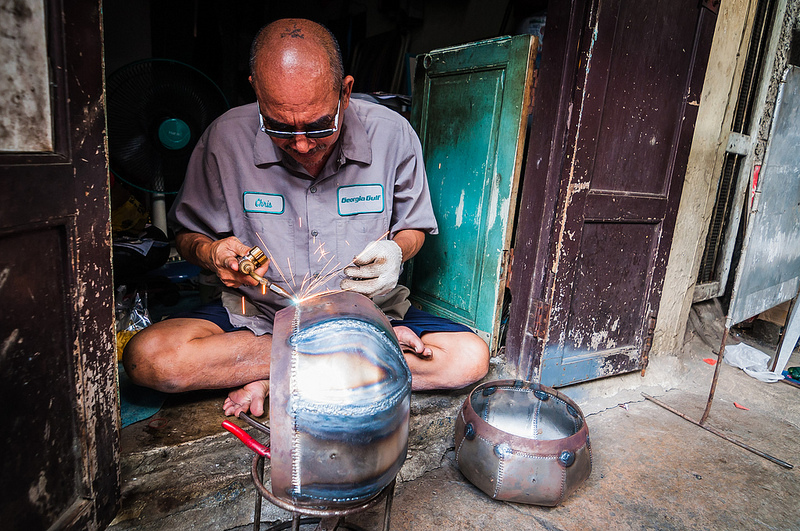 Monk's Bowl Welder