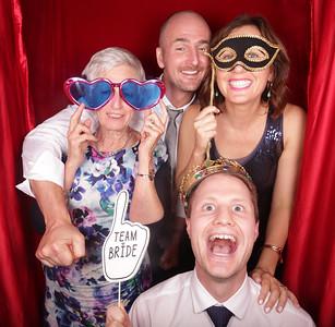 Susannah & Oliver Photobooth Photos