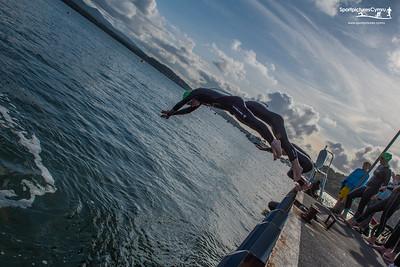 Tîm Irfon - Beaumaris to Bangor Straits Swim - Start At Beaumaris