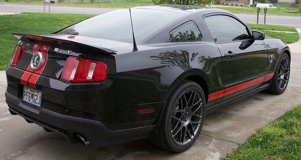 2011 Ford Mustang GT500 Back