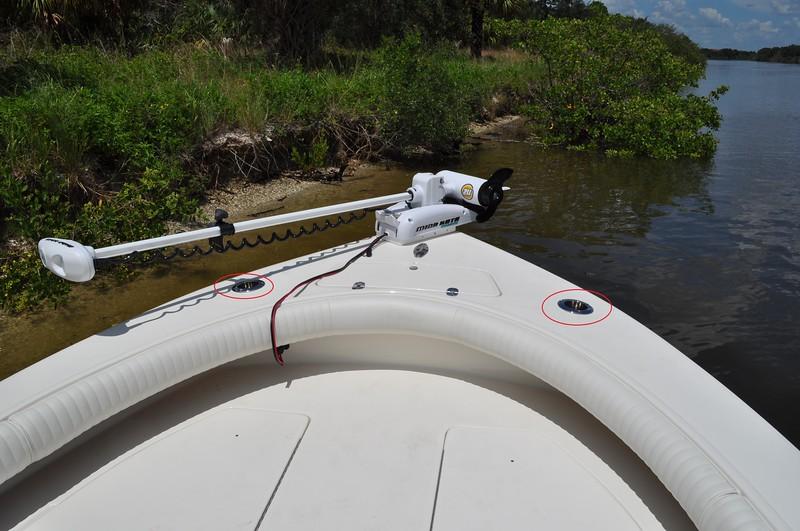 S244851-Fwd Deck Rod Holder Point Outward 9 & 3
