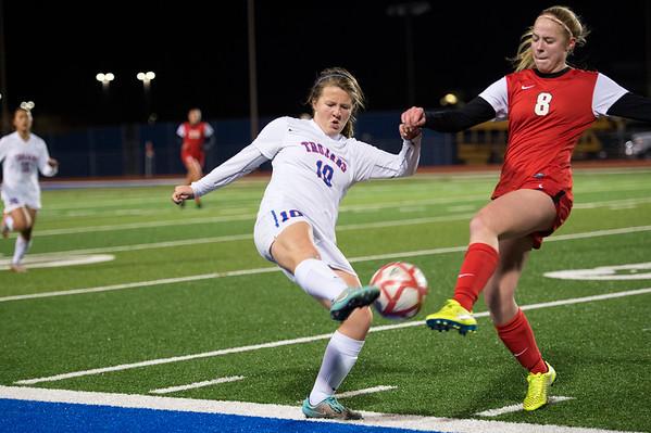 2016-01-04 TCA-Addison - Ursuline Varsity Girls Soccer