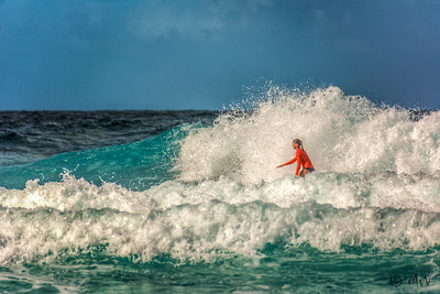 Surfing Playa Canoa