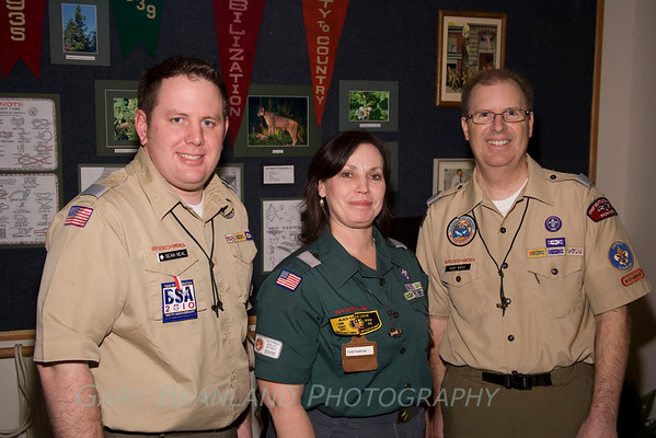 Boy Scout Exhibit Opening, February 5, 2010