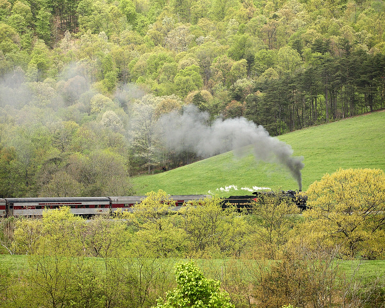 First WMSR steam run of the 2009 season Western Maryland Scenic Railroad