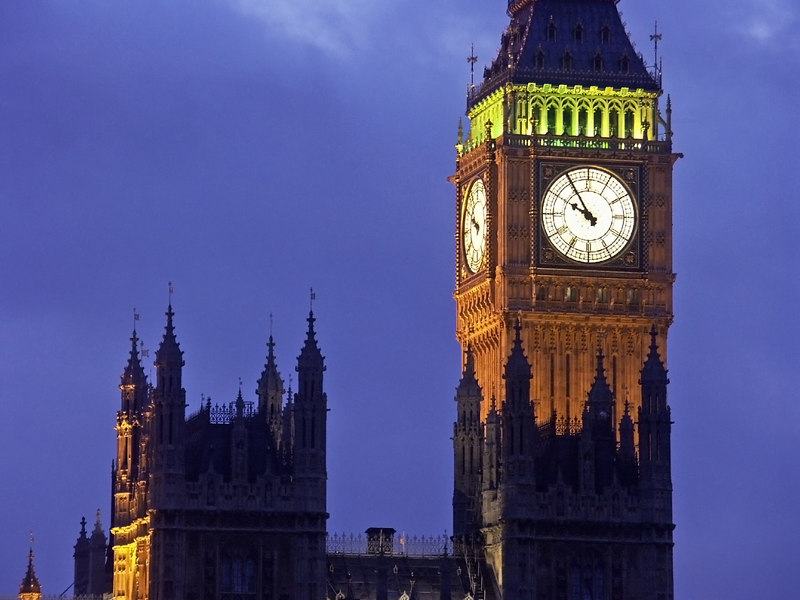London: Clock Tower & Big Ben