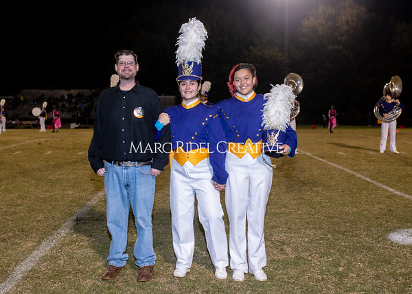 Broughton varsity football vs Cardinal Gibbons. Band and Dance Team Senior Night. October 25, 2019. MRC_3739
