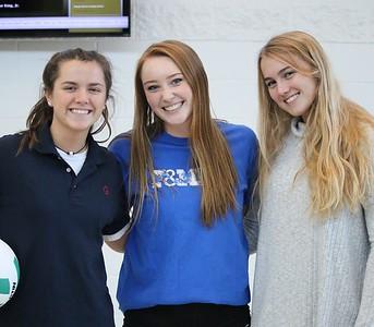 Varsity Girls Volleyball: GA vs George School
