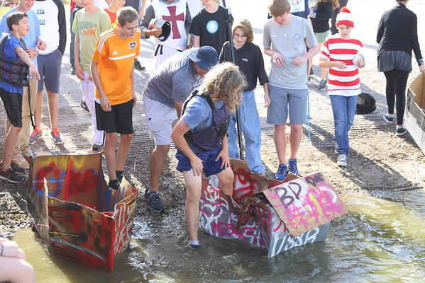 Freshman Physics Boat Launch