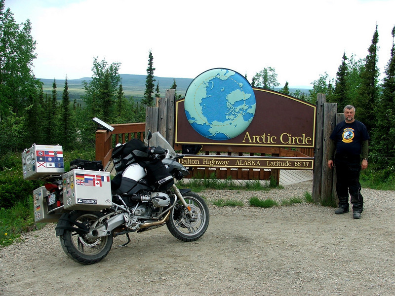 June 21, 2008.  The Arctic Circle!