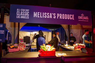 Melissa's Produce Booth