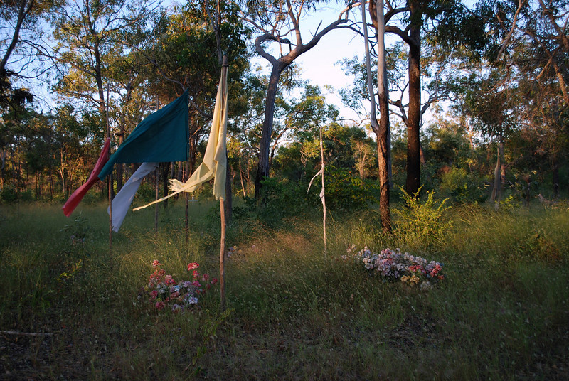 Graves at Galiwinku, April 2008