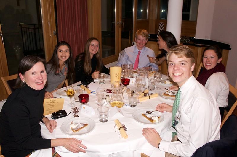 Thanksgiving Dinner at Pollux