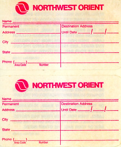 Northwest Orient Airlines
