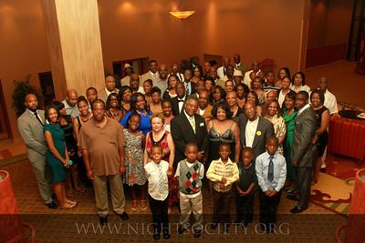 Pride Heard Family Reunion Banquet.