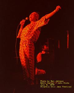 Atlantic City Jazz Festivals 1979, 1980 and 1981