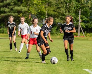 2021 Girls Soccer:  Hall-Dale vs Wiscasset